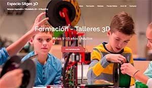 Sitges 3D Taller de Impresión 3D